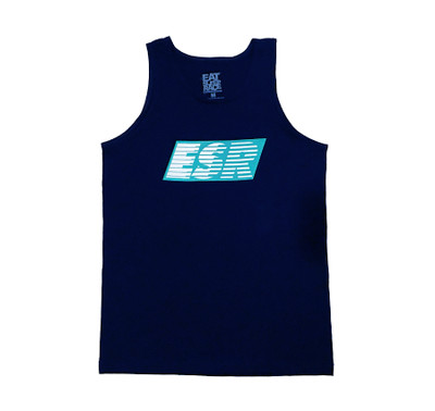 ESR Speedlines Tank Top | Navy/Teal