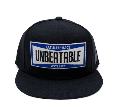 Unbeatable Snapback Hat | Black/Blue
