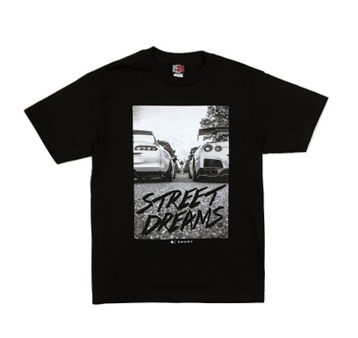 Street Dreams by Zuumy T-Shirt | Black