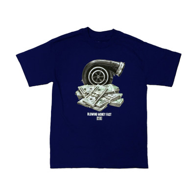 BMF T-Shirt | Navy Blue