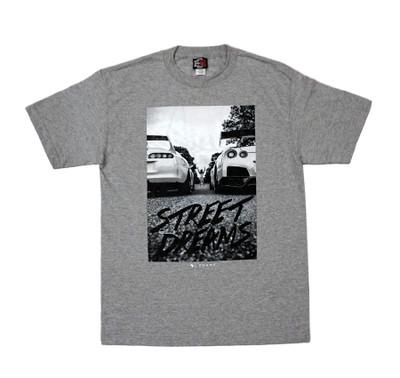 Street Dreams by Zuumy T-Shirt | Grey