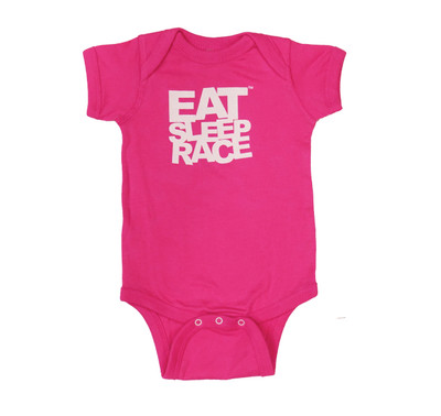 Infant One Piece Logo | Magenta