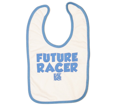 Infant Future Racer Bib v2 | Blue/White