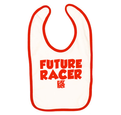 Infant Future Racer Bib v2 | Red/White