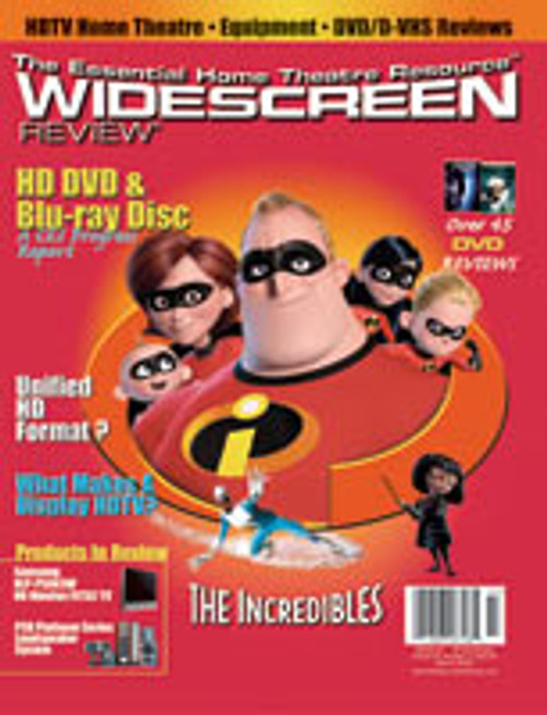 Widescreen Review Issue 094 - The Incredibles (March 2005)