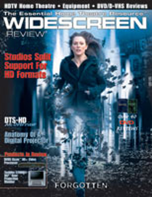 Widescreen Review Issue 093 - The Forgotten (February 2005)