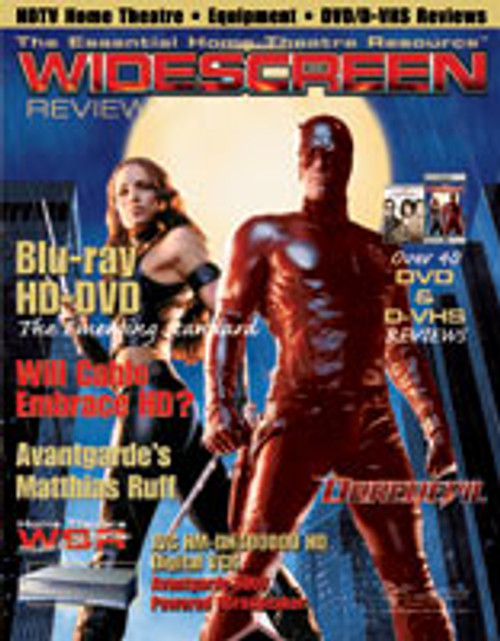 Widescreen Review Issue 075 - Daredevil (August 2003)