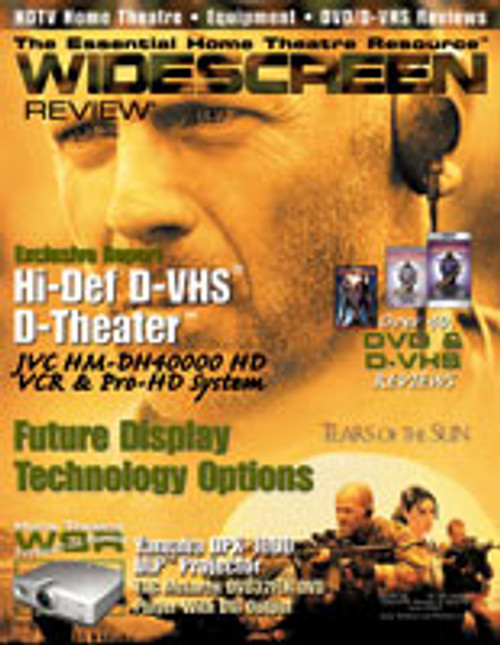 Widescreen Review Issue 073 - Tears Of The Sun (June 2003)