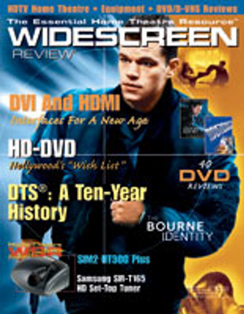 Widescreen Review Issue 069 - The Bourne Identity (February 2003)