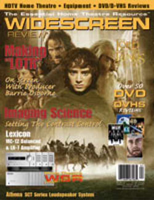 Widescreen Review Issue 067 - Lord Of The Rings: The Fellowship Of The Ring (December 2002)