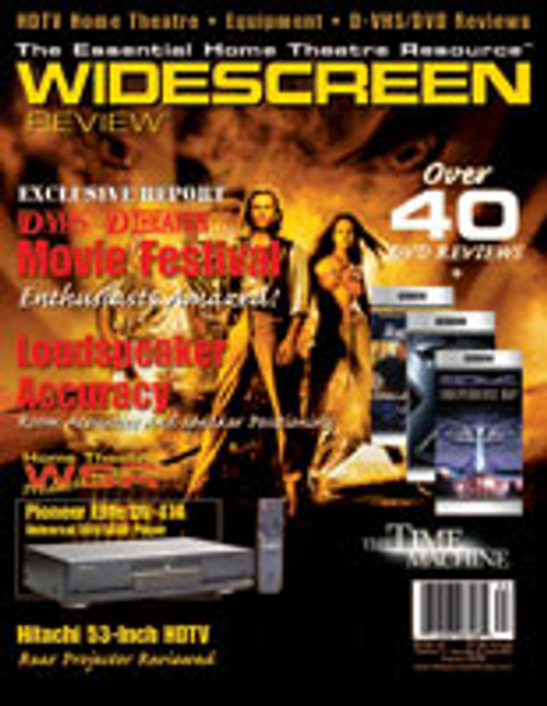 Widescreen Review Issue 063 - The Time Machine (August 2002)