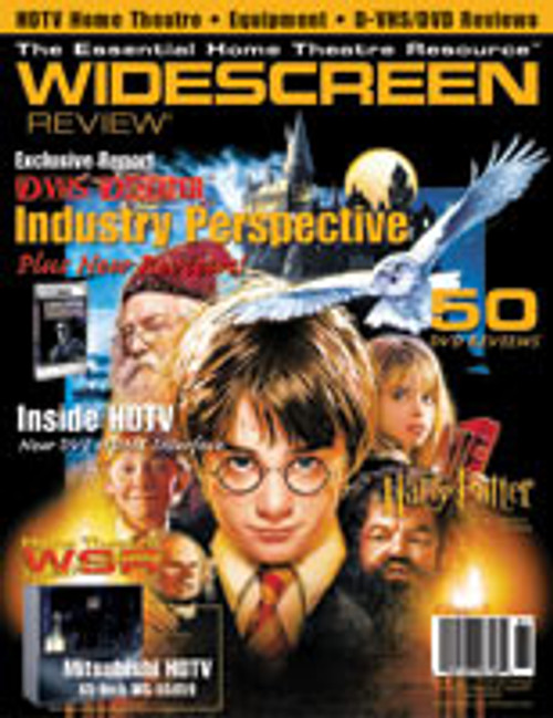Widescreen Review Issue 061 - Harry Potter And The Sorcerer‰Ûªs Stone (June 2002)