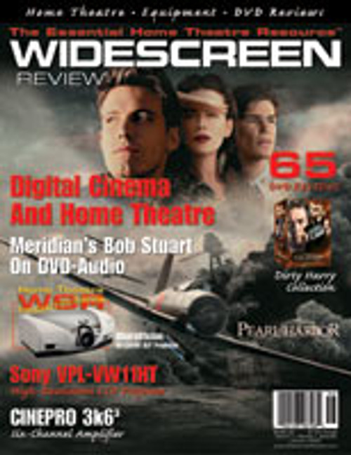 Widescreen Review Issue 056 - Pearl Harbor (January 2002)
