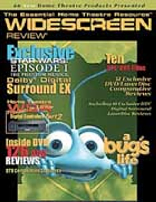 Widescreen Review Issue 032 - A Bugs Life (April 1999)
