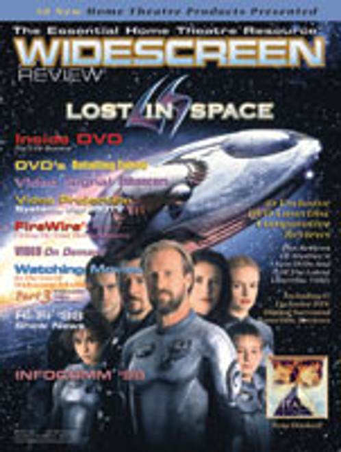 Widescreen Review Issue 029 - Lost In Space (September 1998)