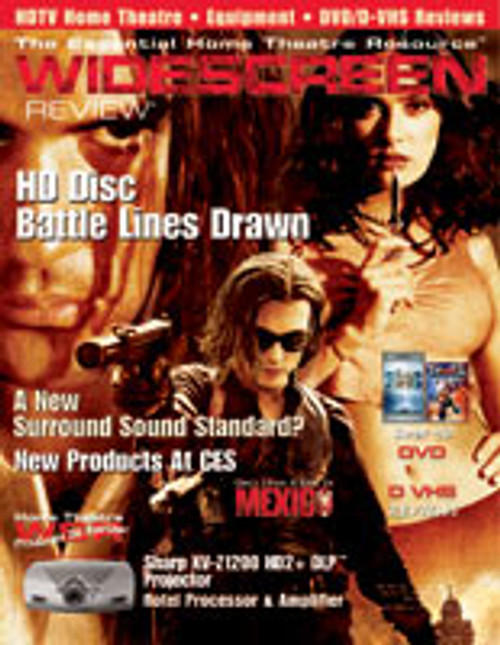 Widescreen Review Issue 082 - Once Upon A TIme In Mexico (March 2004)