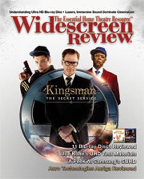Widescreen Review Issue 197 - Kingsman: The Secret Service (June 2015)