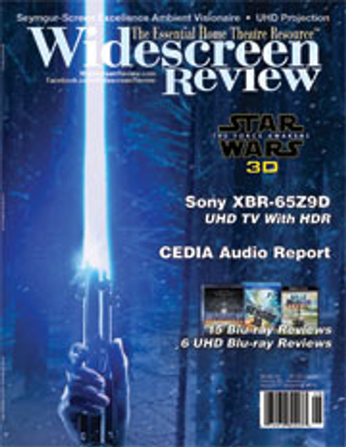 Widescreen Review Issue 211 - Star Wars Episode VII: The Force Awakens 3D (November 2016)
