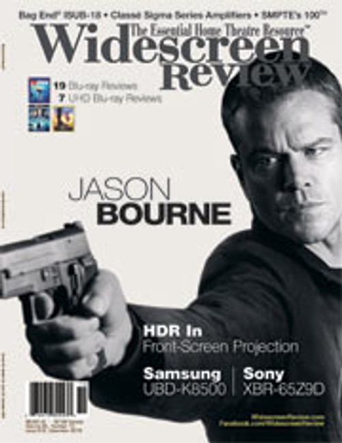Widescreen Review Issue 212 - Jason Bourne (December 2016)