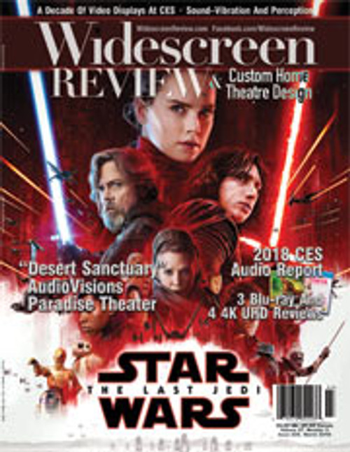 Widescreen Review Issue 225 - Star Wars: The Last Jedi (March 2018)