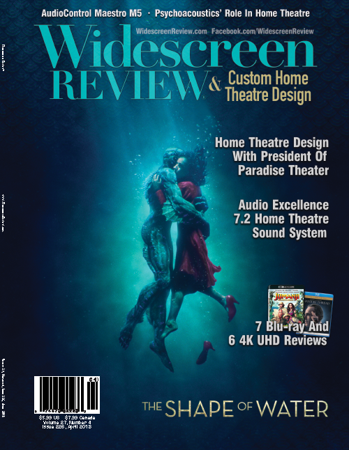 Widescreen Review Issue 226 - The Shape Of Water (April 2018)