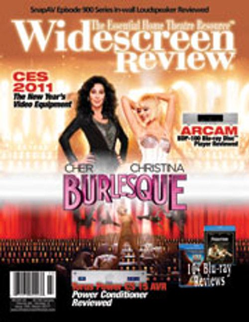 Widescreen Review Issue 155 - Burlesque (March 2011)