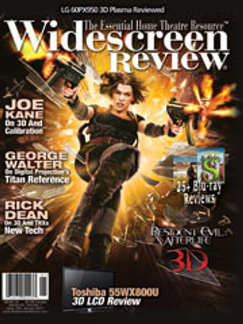 Widescreen Review Issue 153 - Resident Evil: Afterlife (January 2011)