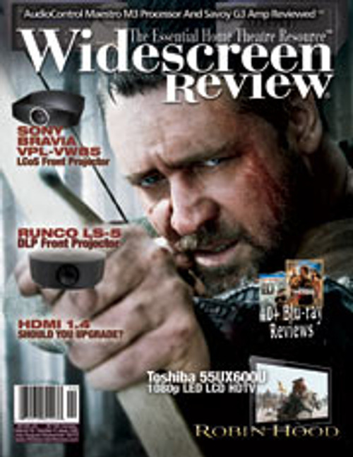 Widescreen Review Issue 149 - Robin Hood (July/August/September 2010)