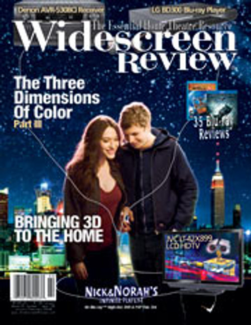 Widescreen Review Issue 138 - Nick & Norah‰Ûªs Infinite Playlist (January/February 2009)