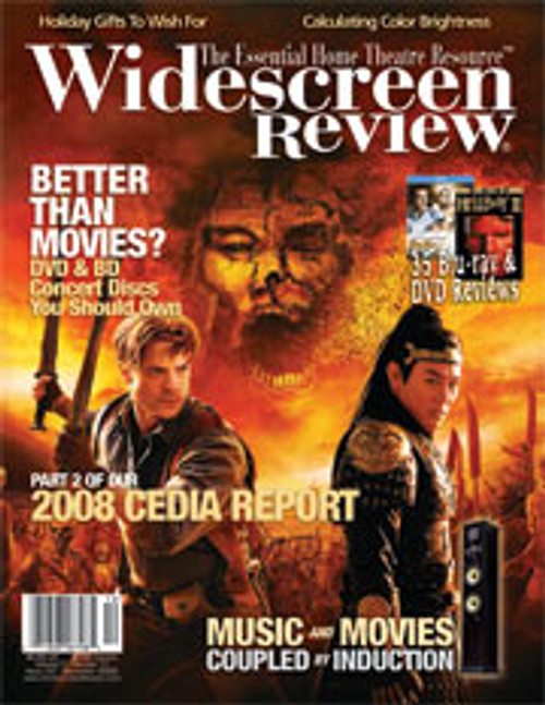 Widescreen Review Issue 137 - The Mummy: Tomb Of The Dragon Emperor (December 2008)
