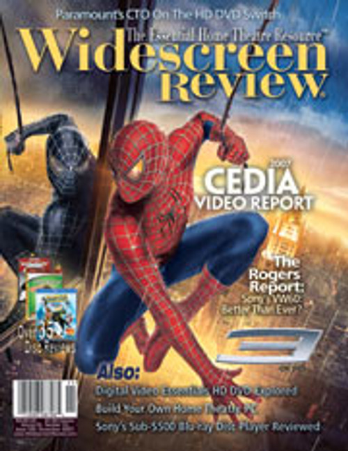Widescreen Review Issue 125 - Spider-Man 3 (November 2007)