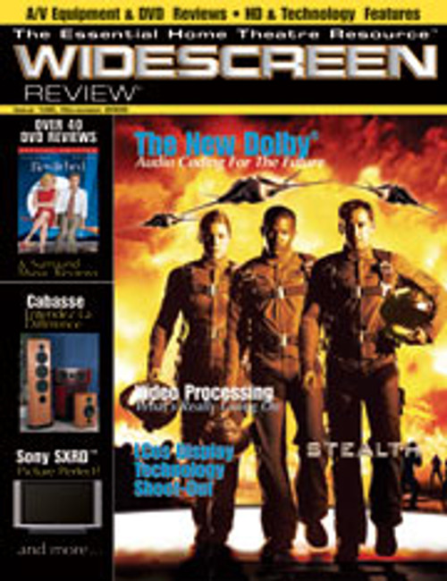 Widescreen Review Issue 102 - Stealth (November 2005)