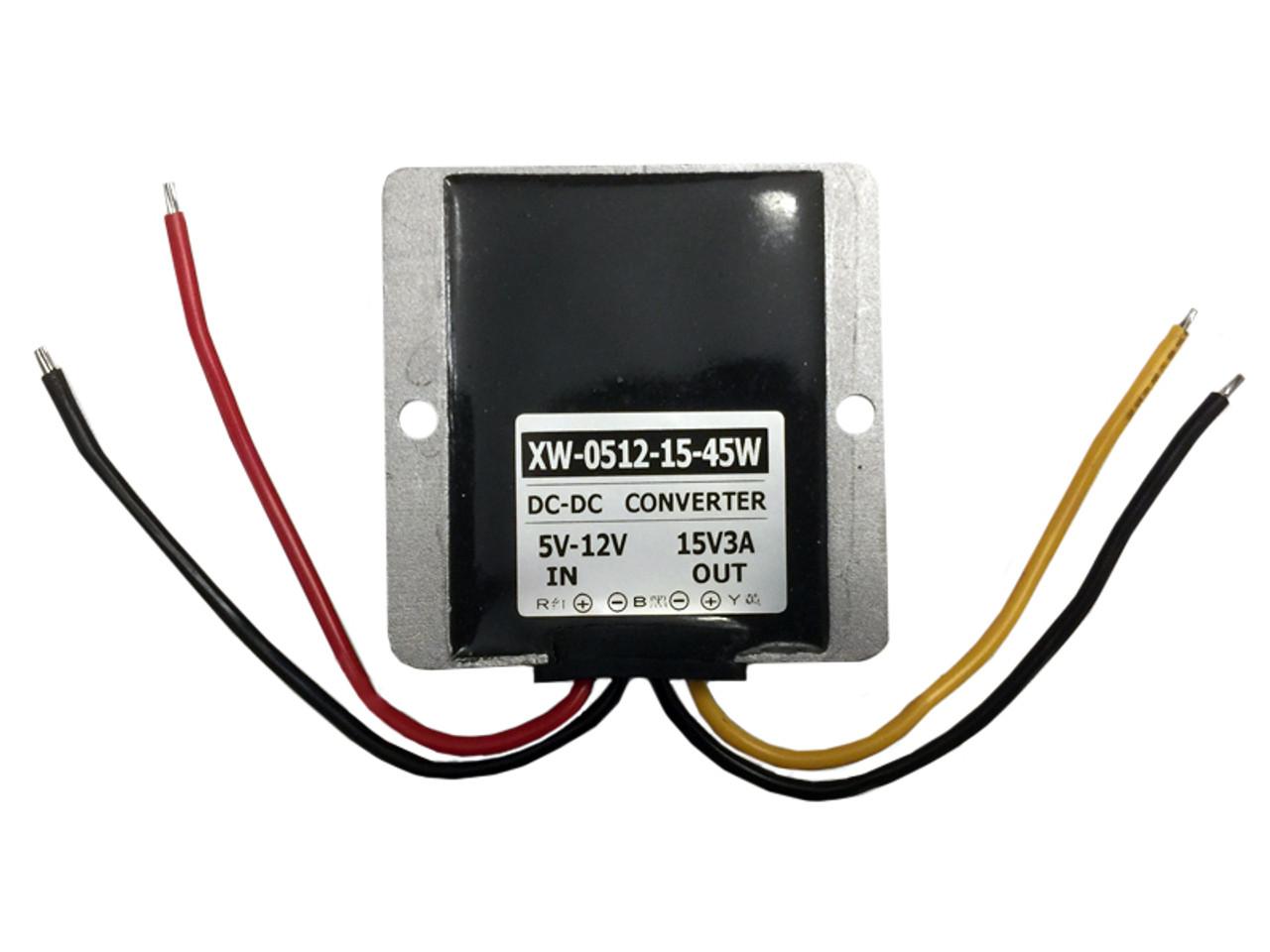 voltage booster 6v to 15v 45w 3amp drl voltage booster flicker rh hidvisioncanada ca
