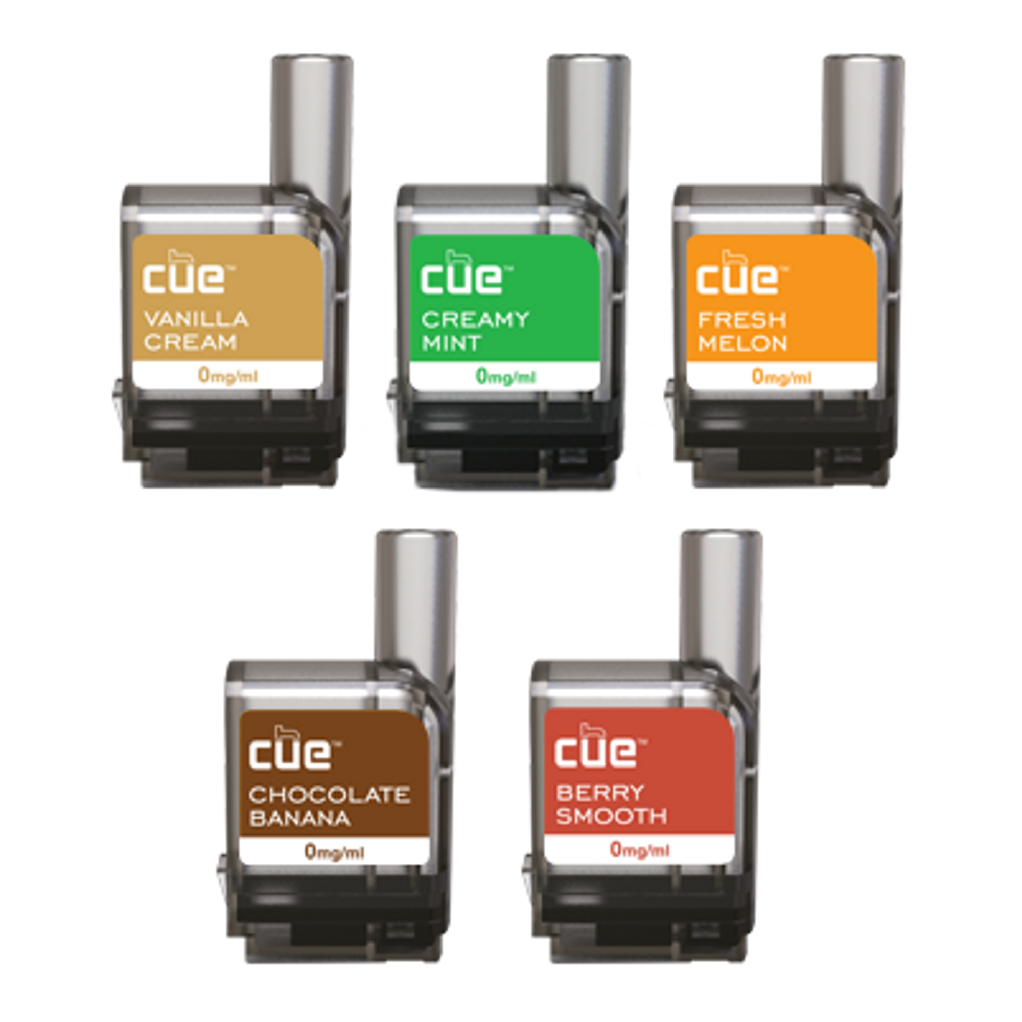 5-Flavor Promo Discovery Pack by Cue Vapor