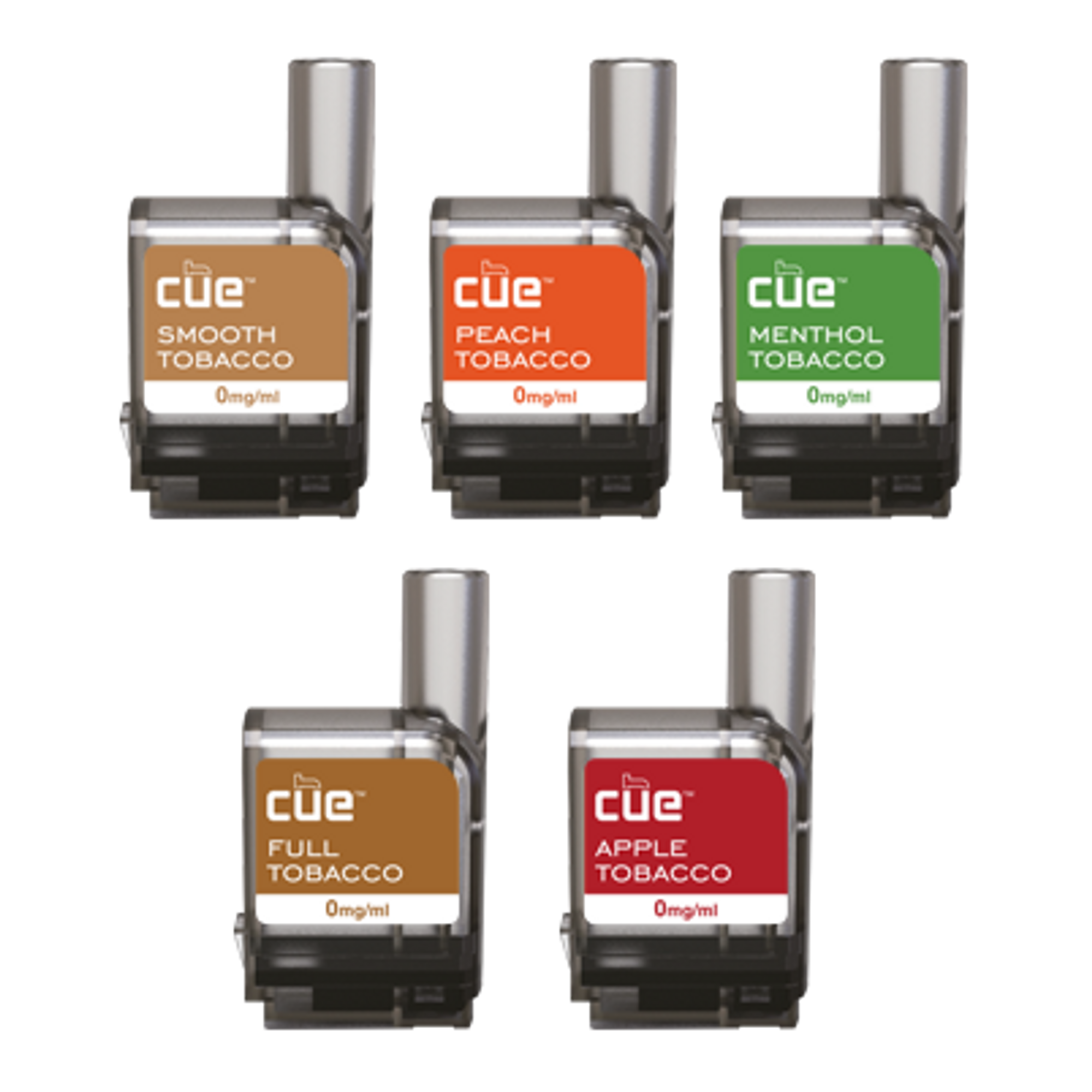 5-Tobacco Promo Discovery Pack by Cue Vapor