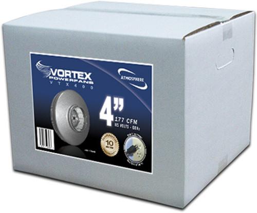 """Vortex Fan 4"""" Inline Powerfan"""
