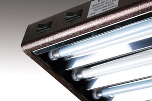 Agrobrite Designer T5 Fluorescent Light 4' x 6 w/bulbs