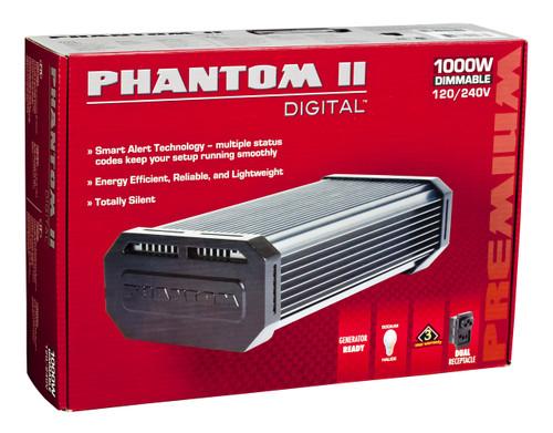 Phantom II Electronic Ballast 1000w Dimmable w/ Digilux HPS Bulb