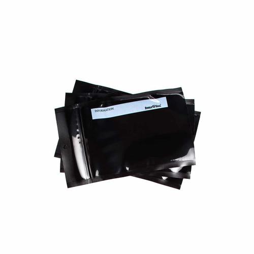 All Black SHIELDNSEAL 5x8 precuts with zipper 50 count