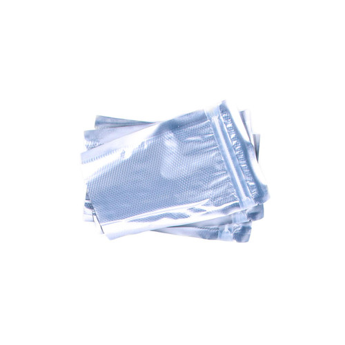 Metallic/clear SHIELDNSEAL 4x6 precuts with zipper 50 count per box
