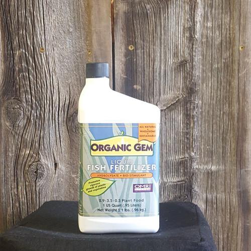 BuildaSoil Fish Hydrolysate - Organic Gem 2.5 gal