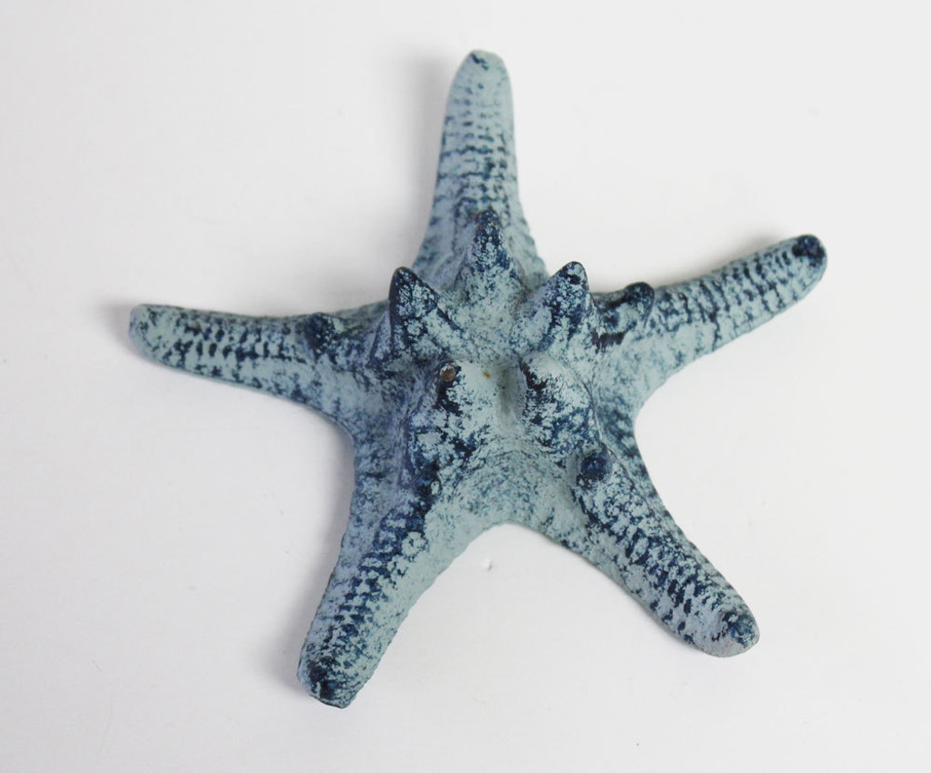 Large iron thorny starfish