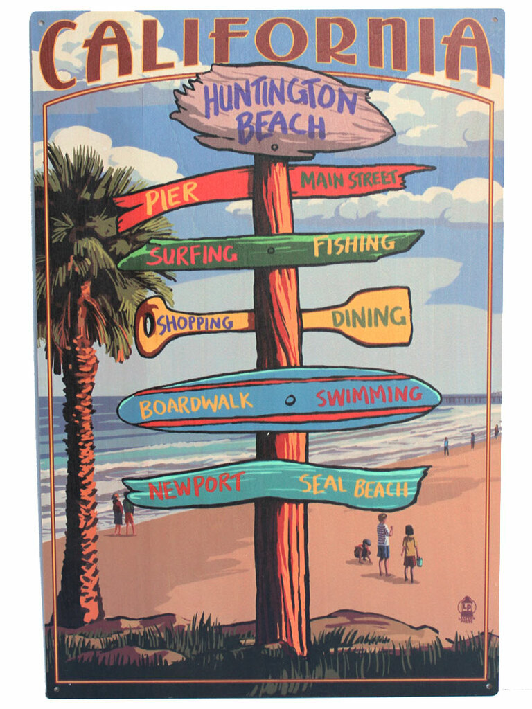 Huntington Beach Street Signs