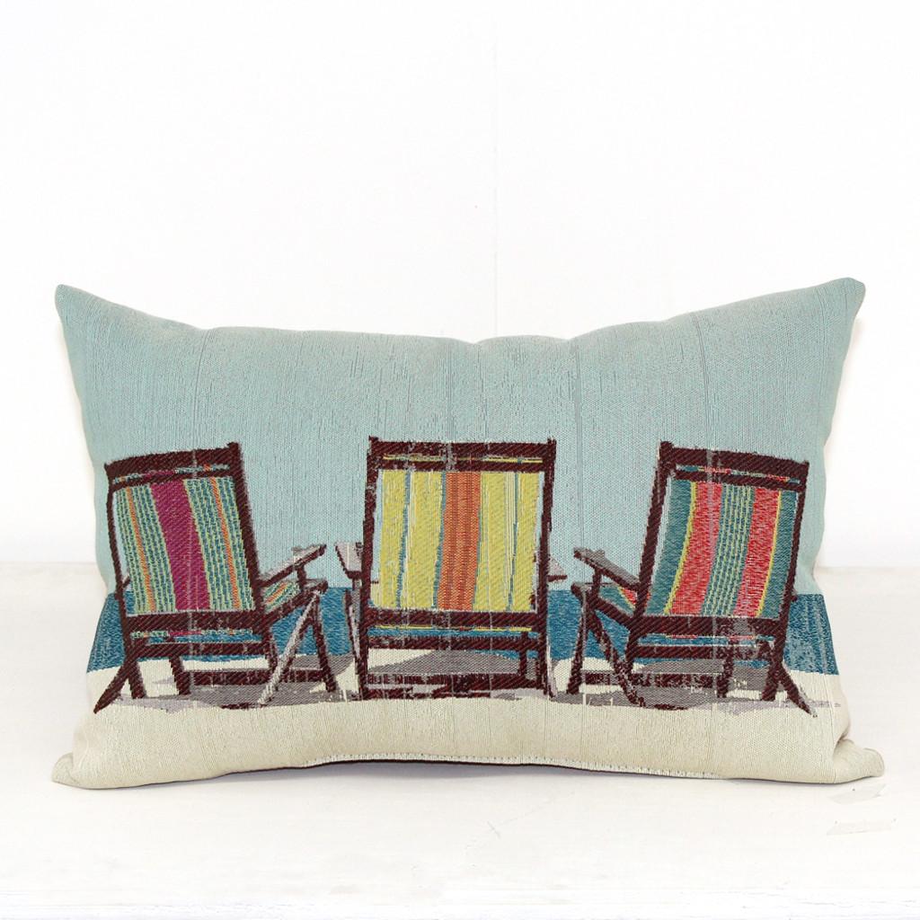 Superb Three Beach Chairs