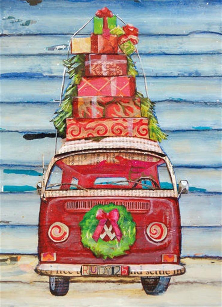 VW Gifts Holiday Cards - Coastal Christmas Stationery - California ...