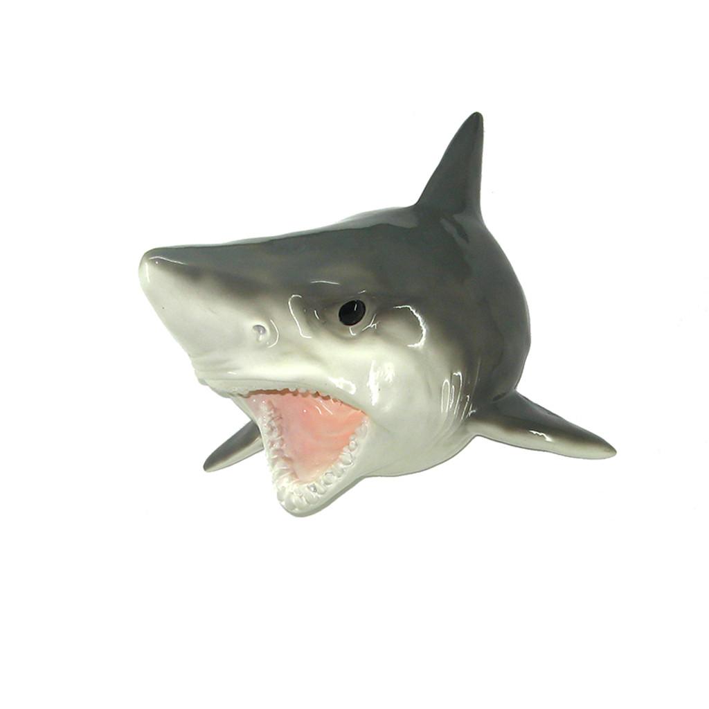 "12"" Resin Wall Shark Figure"