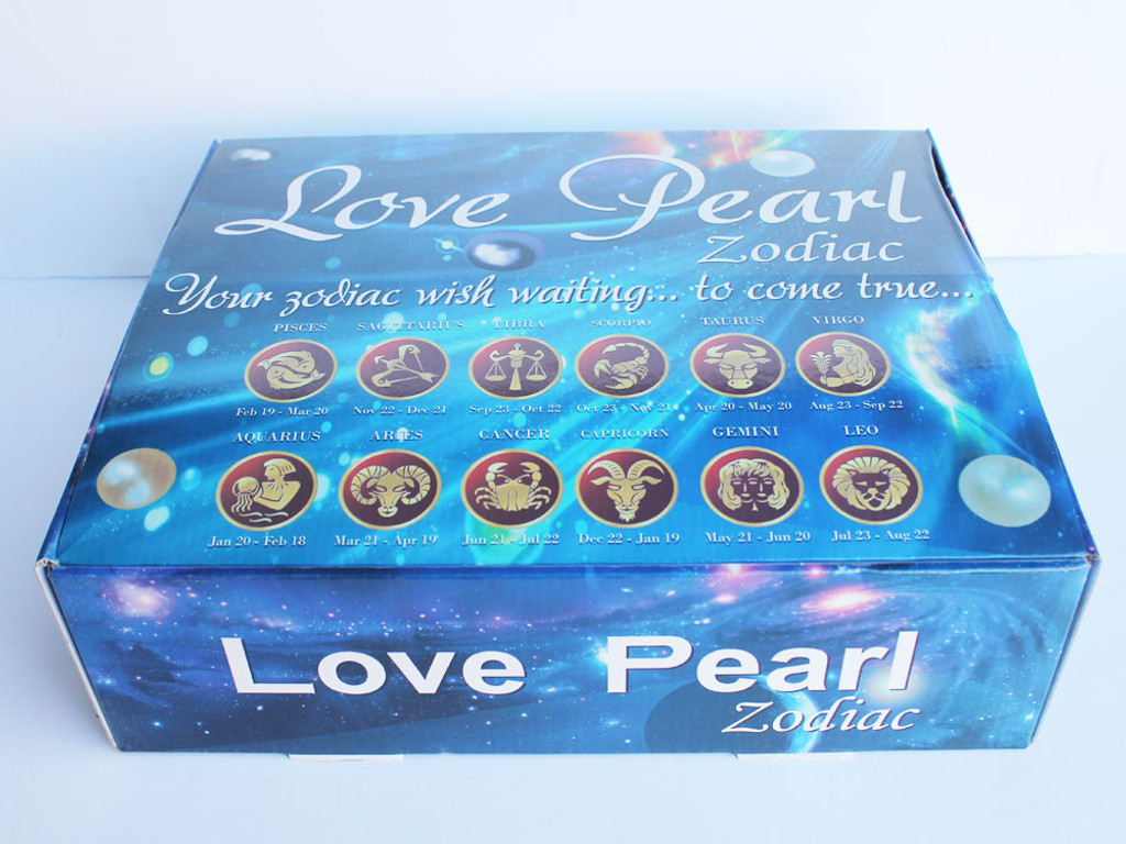 Zodiac Love Pearl Necklace - 1 Dozen Assorted