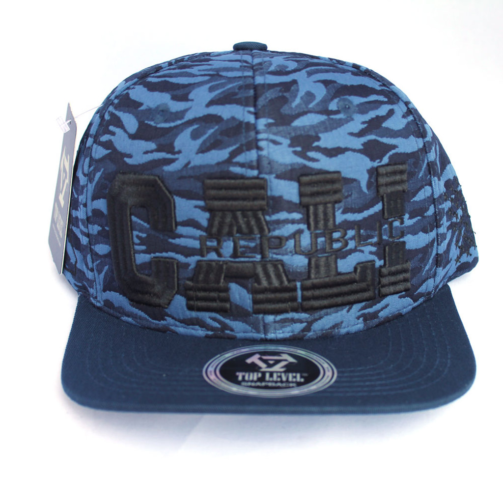 a94ec2c59ae ... new zealand navy camo cali republic snap back hat 0a98e af422