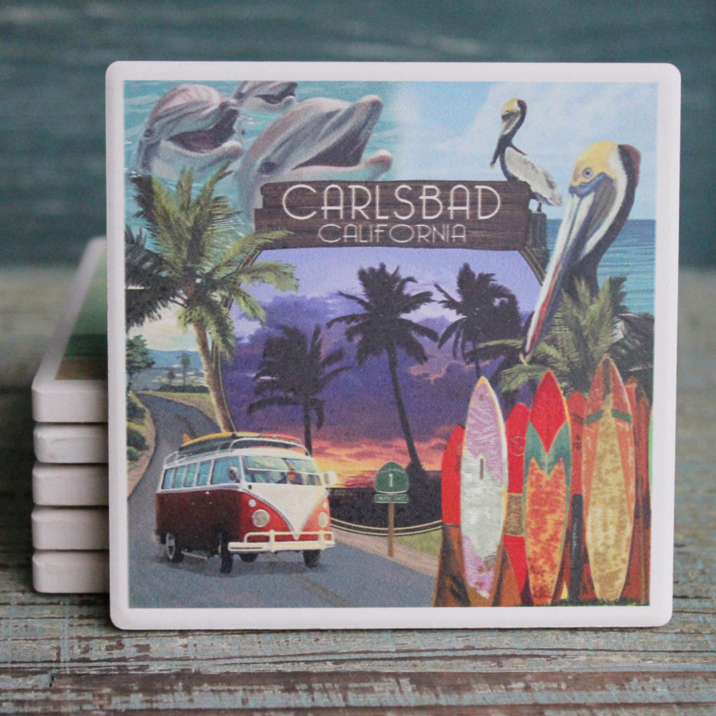 Carlsbad Montage Coaster