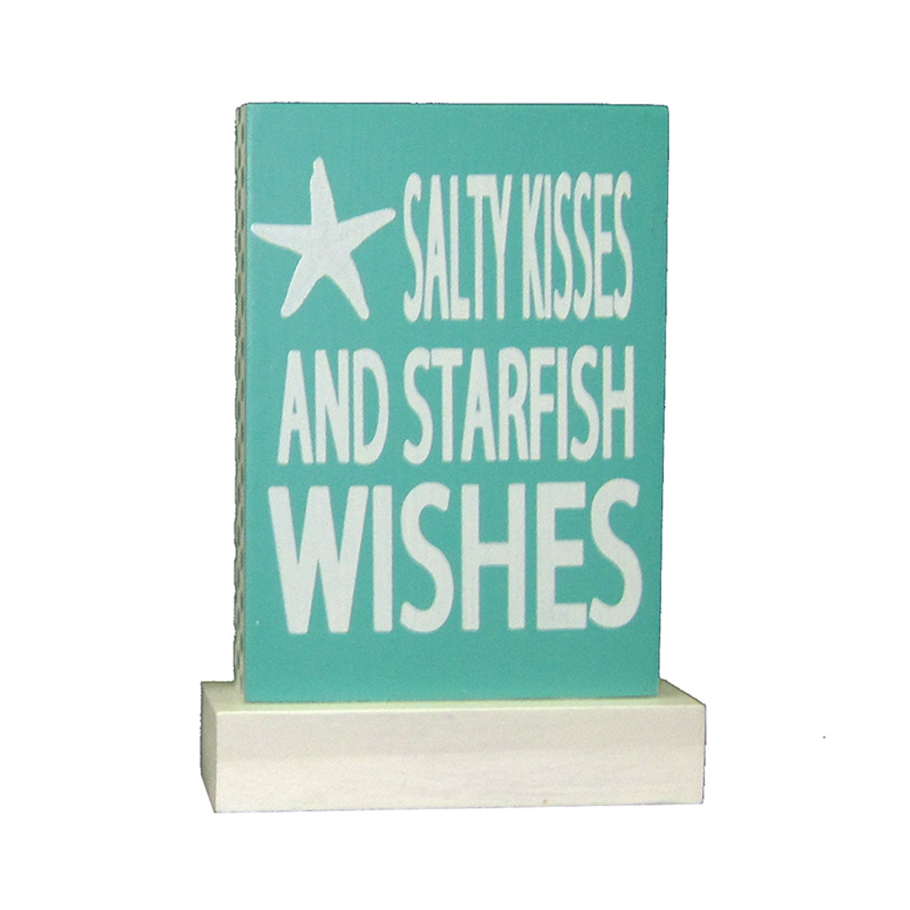 Salty Kisses and Starfish Wishes